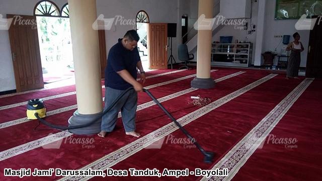 Karpet Masjid Merah Boyolali