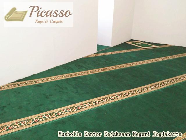 Alhamdulillah Telah Terpasang Karpet Sajadah di Musholla Kantor Kejaksaan Jogjakarta2