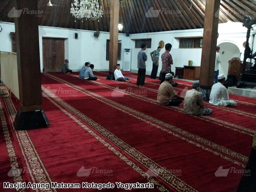 Karpet Masjid Agung Mataram Jogja