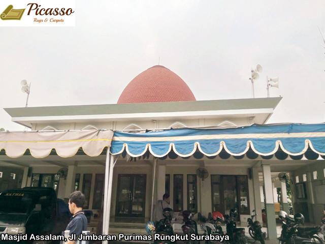 Masjid Assalam Purimas, Rungkut Surabaya