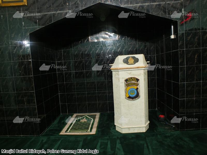 Masjid Baitul Hidayah, Polres Gunung Kidul – Jogja