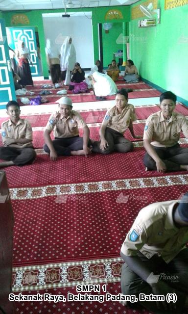 Musholla SMPN 1 Batam Sekanak Raya, Belakang Padang, Batam