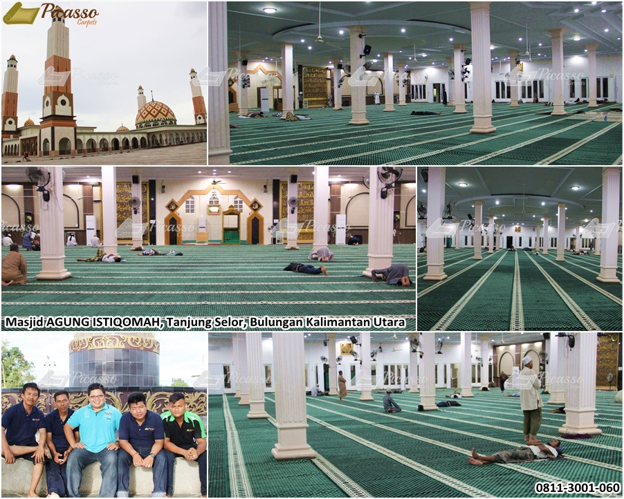 Mengenal Turkey Minimalis B+, Salah Satu Karpet Masjid Best Seller Picasso Rugs and Carpets
