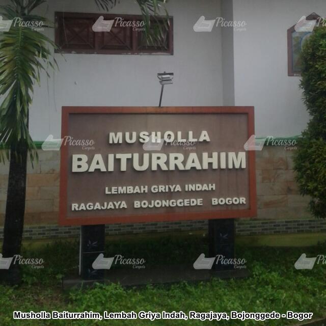 Karpet Masjid Merah Musholla Baiturrahim, Bojonggede – Bogor
