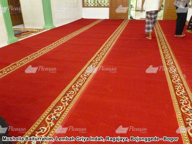 karpet masjid merah bojonggede