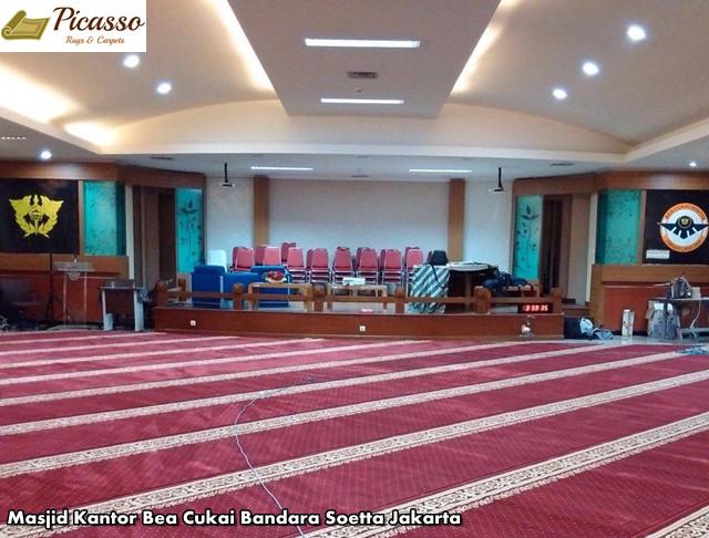 Best of The Best! Inilah Turkey Premium A, Karpet Masjid Terbaik Untuk Masjid Anda