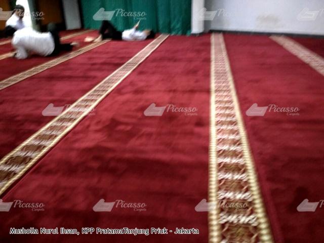 karpet masjid merah tanjung priuk jakarta