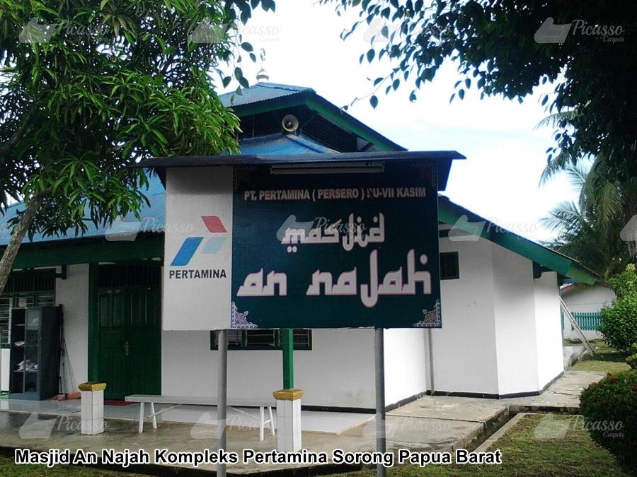 Masjid An Najah Kompleks Pertamina Sorong Papua Barat