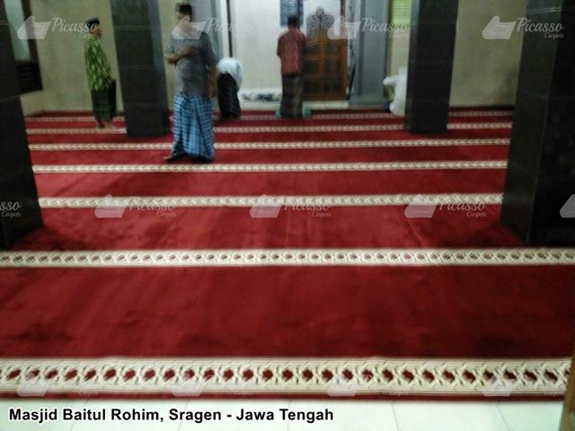 karpet masjid sragen