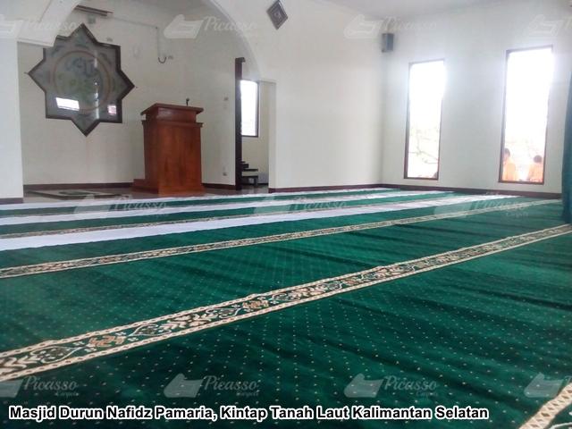 Masjid Durun Nafidz Pamaria, Kintap Tanah Laut, Kalimantan Selatan