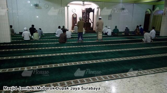 Masjid Jamik Al Mubarok  Dupak Jaya Surabaya