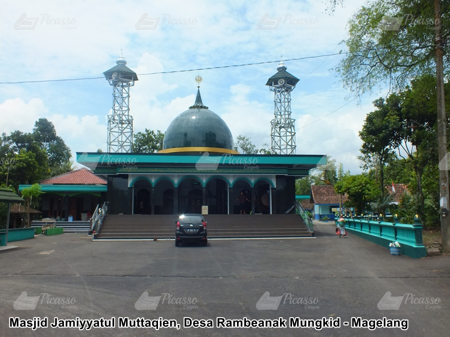 Masjid Jamiyyatul Muttaqien, Desa Rambeanak Mungkid – Magelang