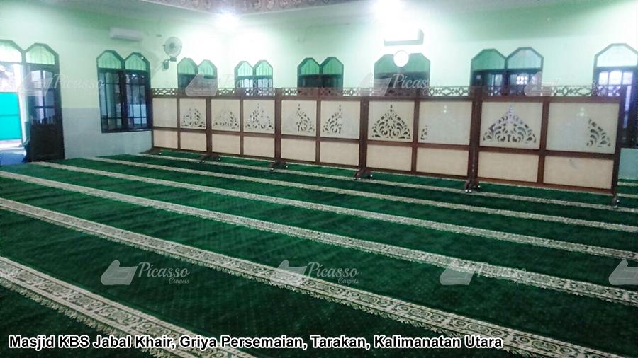karpet masjid tarakan