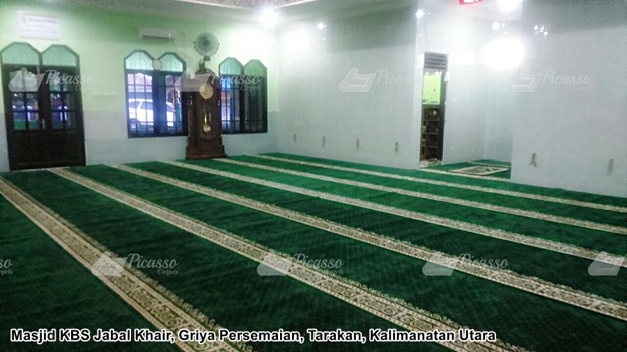 Masjid KBS Jabal Khair Griya Persemaian Tarakan Kalimantan Utara