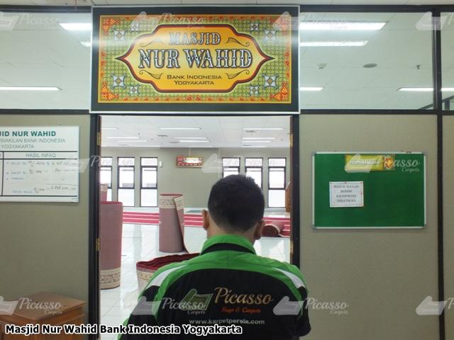 Karpet Masjid Nur Wahid Bank Indonesia Yogyakarta