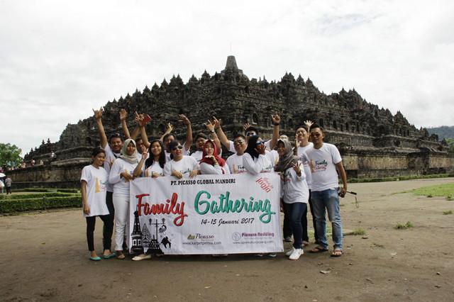 Serunya Family Gathering PT Picasso Global Mandiri di Jogja!