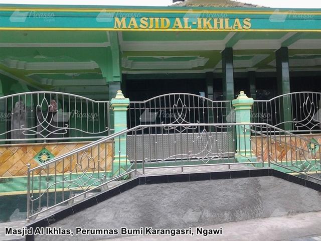 Karpet Masjid Al Ikhlas Perumnas Bumi Karangasri Ngawi