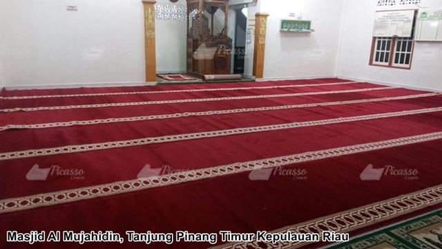 Karpet Masjid Merah Riau