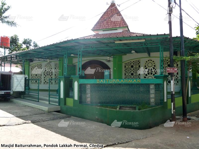 Karpet Masjid Baiturrahman Pondok Lakah, Ciledug-Tangerang