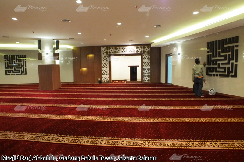 Karpet Masjid Burj Al Bakrie -Gedung Bakrie Tower