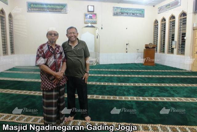 Karpet Masjid Ngadinegaran Gading Jogja