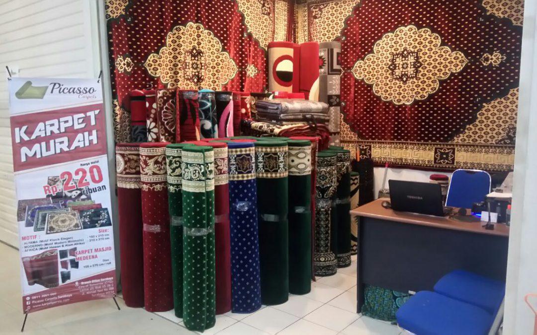 Karpet Masjid Terlengkap Jawa Timur? Picasso Rugs and Carpets Juaranya!