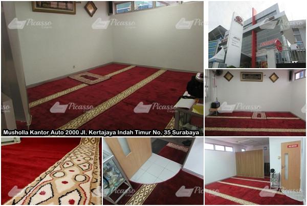 Karpet Masjid Merah Surabaya