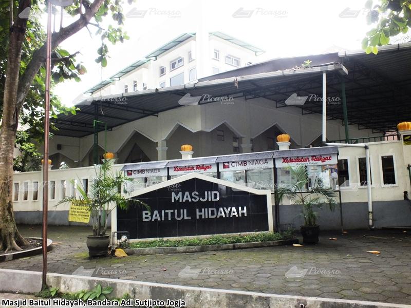 Masjid Baitul Hidayah, Bandara Adi Sucipto Jogja