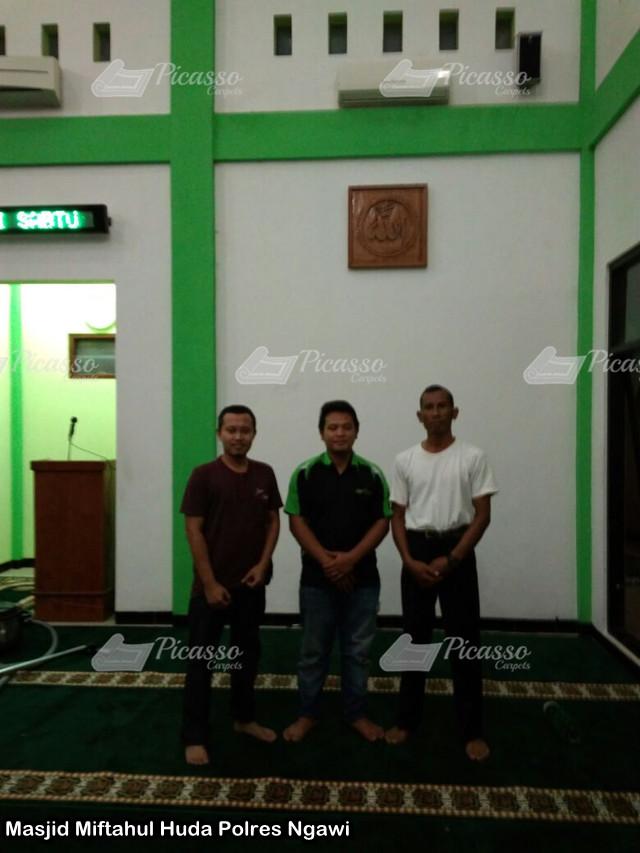Masjid Miftahul Huda Polres Ngawi3