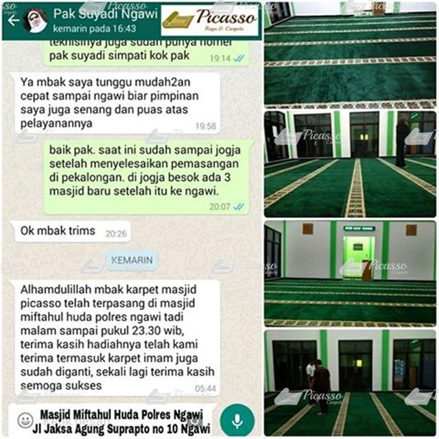 Masjid Miftahul Huda Polres Ngawi6