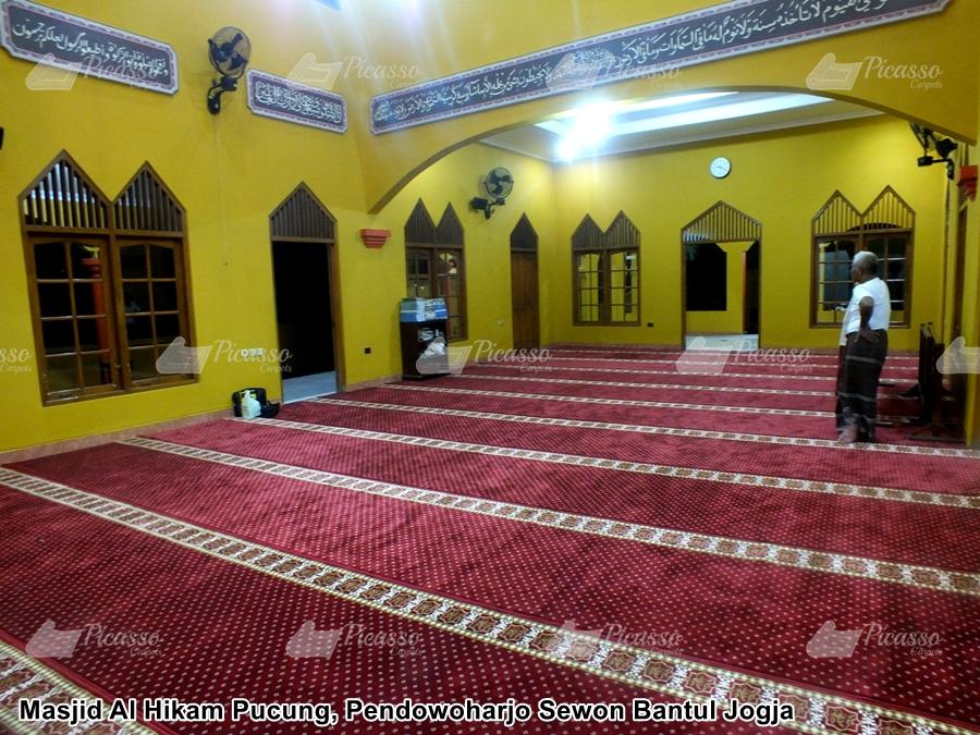 Karpet Masjid Merah Jogja