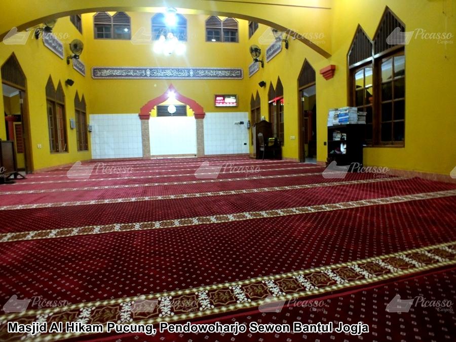 Karpet Masjid Al Hikam Pucung, Bantul Jogja