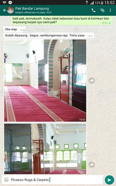 Karpet Masjid Merah Lampung