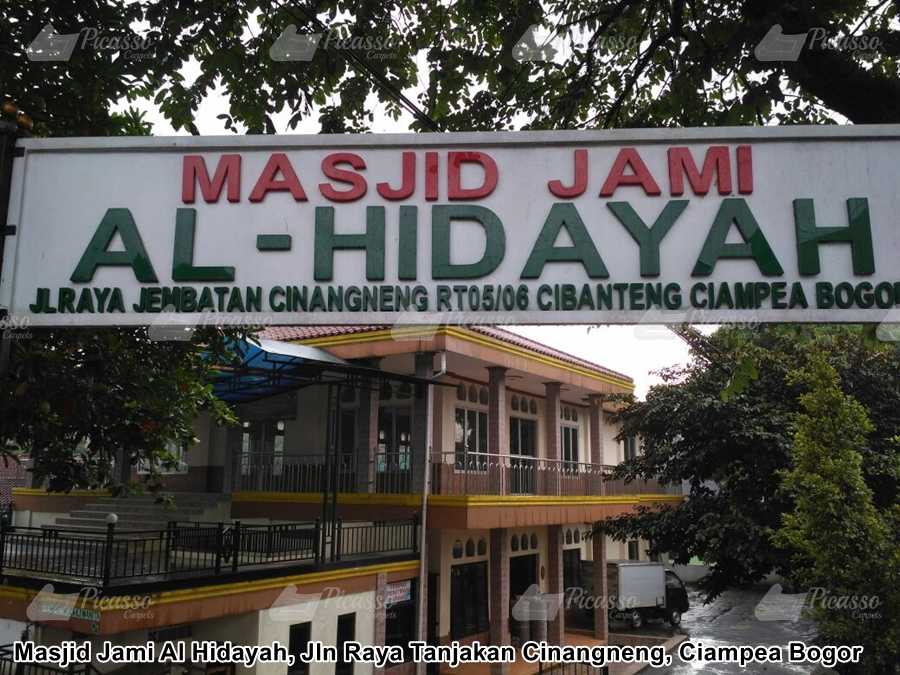 Karpet Masjid Jami Al Hidayah, Cinangneng, Ciampea Bogor