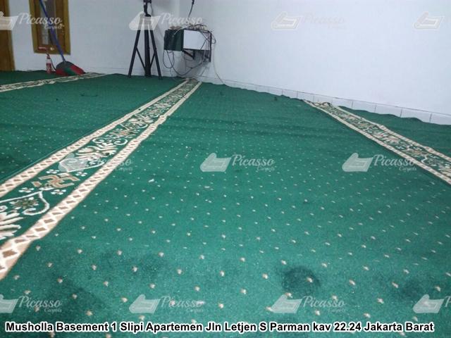 Karpet Masjid Slipi Apartemen Jakarta Barat
