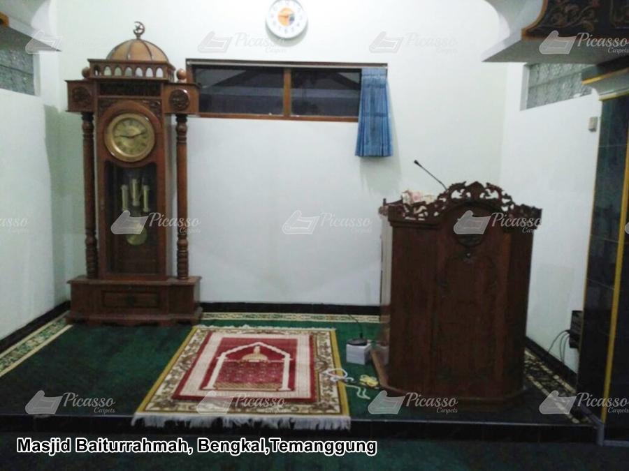 Karpet Masjid Baiturrahmah, Bengkal Temanggung