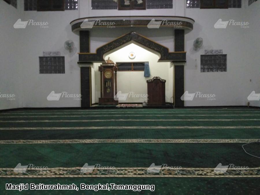 karpet masjid hijau temanggung
