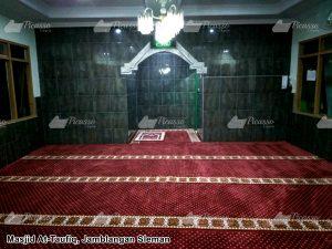karpet masjid minimalis jogja