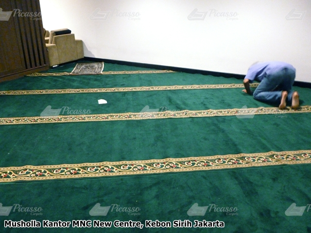 Karpet Masjid Kantor MNC New Centre Kebon Sirih Jakarta
