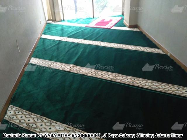 Karpet Masjid Kantor PT WASA MITRA ENGINEERING Jakarta Timur