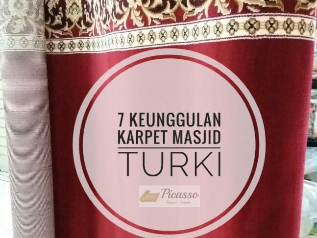 7 Keunggulan Karpet Masjid Turki dibanding Karpet Lokal