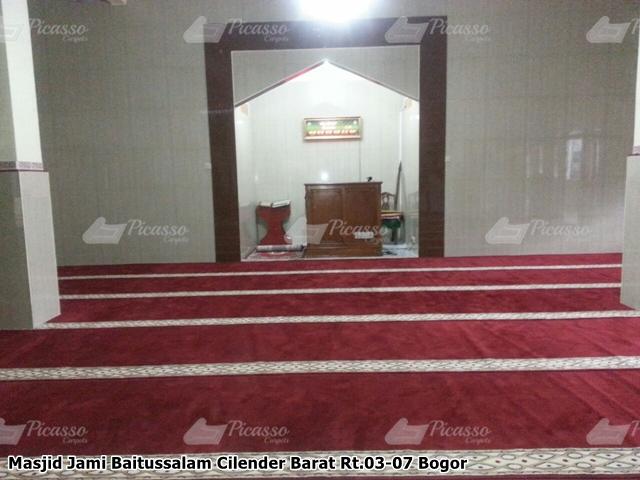 karpet masjid bogor