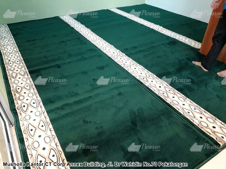 Karpet Masjid Kantor CT Corp Annex Building Jakarta
