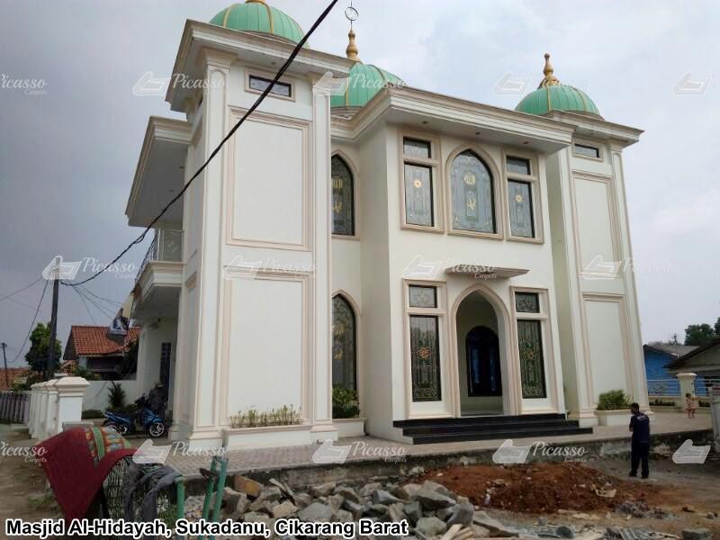 Karpet Masjid Nurul Hidayah, Sukadanau – Cikarang Barat