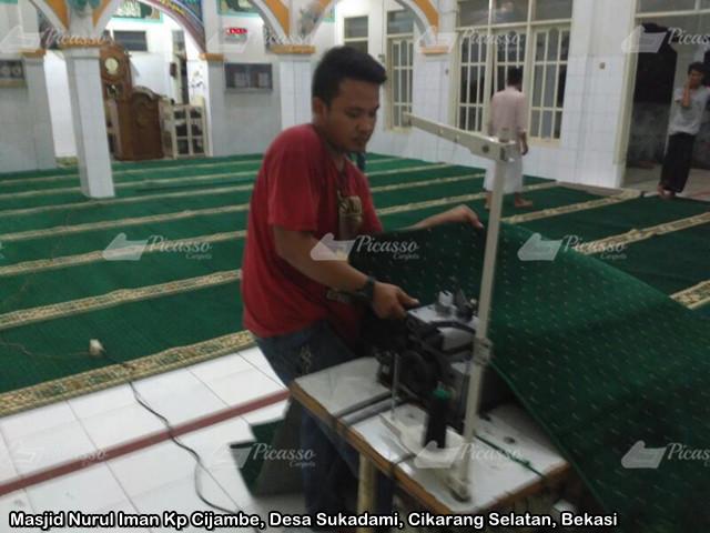 karpet masjid cikarang selatan bekasi