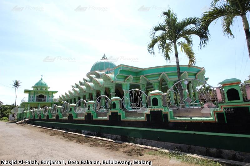 Karpet Masjid Al Falah Banjarsari, Bululawang – Malang