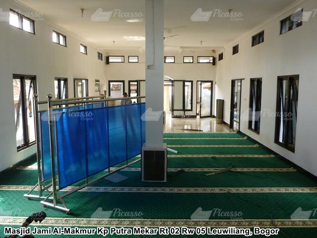 Karpet Masjid Hijau Bogor