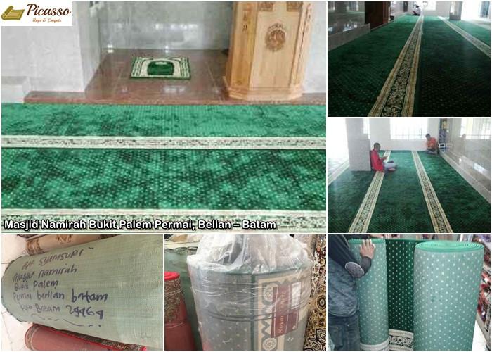 Karpet Masjid Namirah Bukit Palem Permai, Belian – Batam