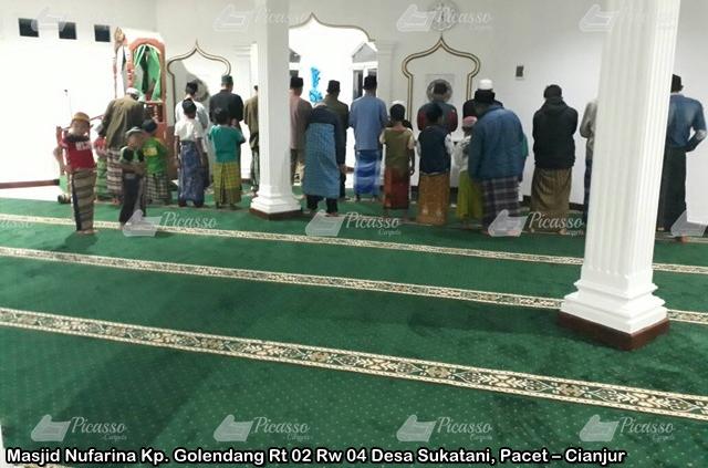 Karpet Masjid Nufarina Pacet – Cianjur