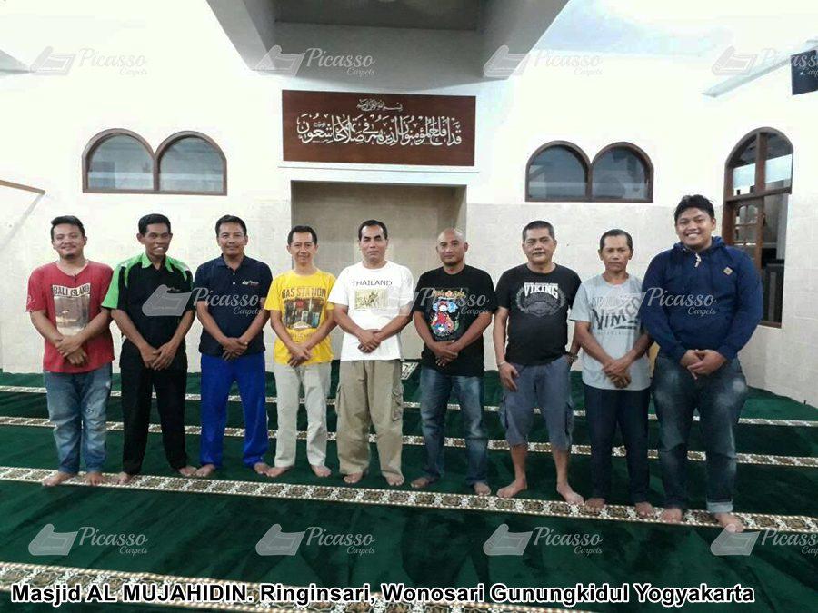 Masjid AL MUJAHIDIN. Ringinsari, Wonosari Gunungkidul Yogyakarta